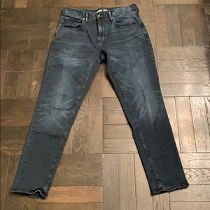 Old Navy Men's relaxed slim stretch blue denim